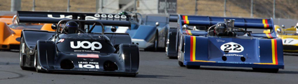 Shadow DN9 and Sting racing at Sonoma Historics